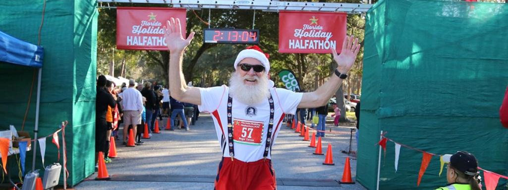 2014 Holiday Halfathon Finish Line