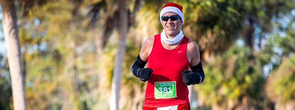 Florida Holiday Halfathon & 10K Runner